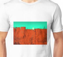 Canberra, ACT Skyline - RED Unisex T-Shirt