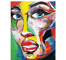 Woman Face Photographic Print