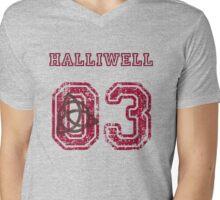 Halliwell Jersey Mens V-Neck T-Shirt