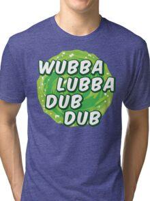 Wubbalubbadubdub Tri-blend T-Shirt