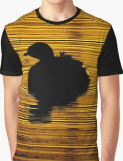 Australasian Grebe Graphic T-Shirt