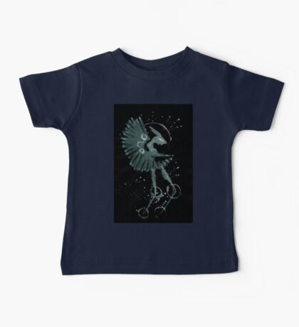 0087 - Brush and Ink - Fan Baby Tee