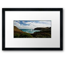 Along the Coast Framed Print