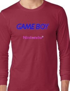 GAME BOY Long Sleeve T-Shirt