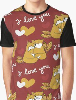 Fox Love Graphic T-Shirt
