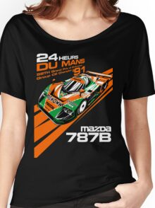 DU MANS : MAZDA 787B Women's Relaxed Fit T-Shirt