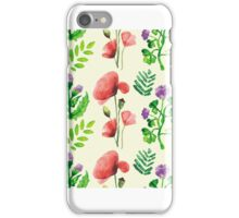 Watercolor Flowers iPhone Case/Skin
