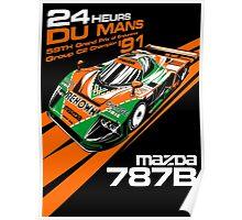 DU MANS : MAZDA 787B Poster