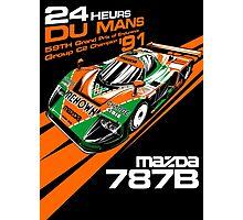 DU MANS : MAZDA 787B Photographic Print
