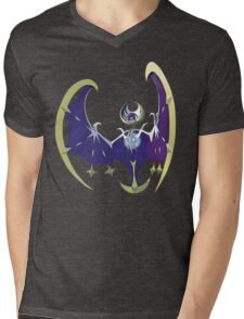 POKEMON SUN AND MOON - LUNALA Mens V-Neck T-Shirt