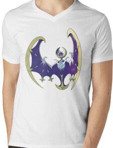 POKEMON SUN AND MOON - LUNALA Mens V-Neck T-Shirt