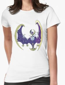 POKEMON SUN AND MOON - LUNALA Womens Fitted T-Shirt