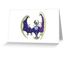 POKEMON SUN AND MOON - LUNALA Greeting Card