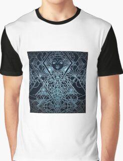 Moon Buddah Graphic T-Shirt