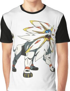 POKEMON SUN AND MOON - SOLGALEO Graphic T-Shirt