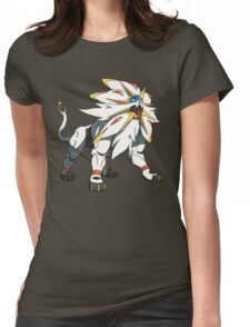 POKEMON SUN AND MOON - SOLGALEO Womens Fitted T-Shirt