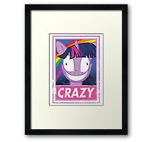 Crazy pony Framed Print