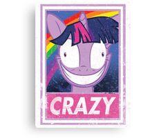 Crazy pony Canvas Print