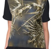Lake Burley Griffin Chiffon Top