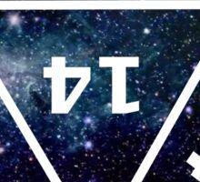 D20 Galaxy Sticker