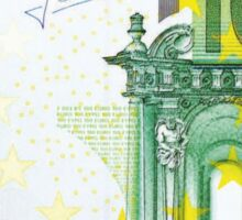 100 euros money bill banknote Sticker