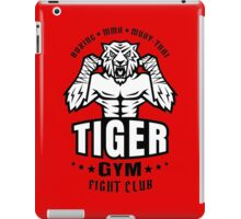 Angry tiger iPad Case/Skin
