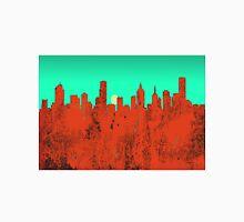 Melbourne, Victoria, Australia Skyline - RED Unisex T-Shirt