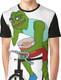 Spicy Pepe Graphic T-Shirt