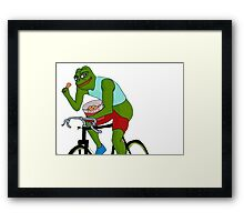 Spicy Pepe Framed Print