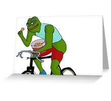 Spicy Pepe Greeting Card