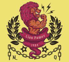 lion bodybuilder Baby Tee