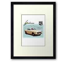 Volvo P1800S Coupe Framed Print