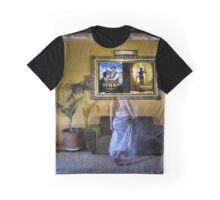 ...and the room held its breath as she whispered into the scene. Graphic T-Shirt