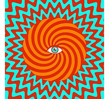 Hypnotic poster Photographic Print