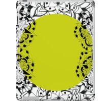 Mandala yellow iPad Case/Skin
