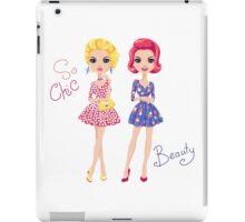 Pop Art cute fashion girls iPad Case/Skin