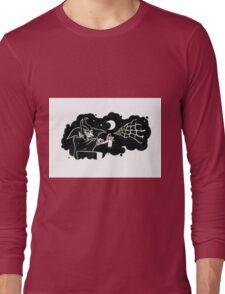 Spraying Dracula Long Sleeve T-Shirt
