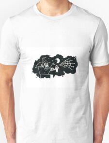 Spraying Dracula Unisex T-Shirt