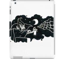 Spraying Dracula iPad Case/Skin