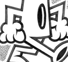 Graffiti Cap  Sticker