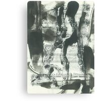 abstraction for Mozart Canvas Print