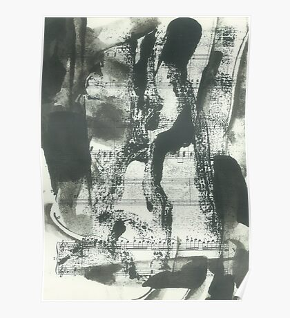 abstraction for Mozart Poster