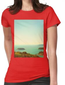 Ocean landscape Womens Fitted T-Shirt