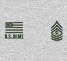 Sergeant Major of the Army Infantry US Army Rank by Mision Militar ™ Baby Tee