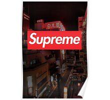 Supreme Japan Poster