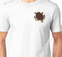 Swimming Turtle Isolated Unisex T-Shirt