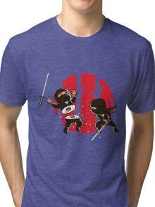 Sushi ninja Tri-blend T-Shirt