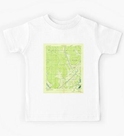 USGS TOPO Map Alabama AL Doran Cove 303696 1936 24000 Kids Tee