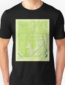 USGS TOPO Map Alabama AL Doran Cove 303696 1936 24000 Unisex T-Shirt