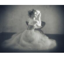 The frock Photographic Print